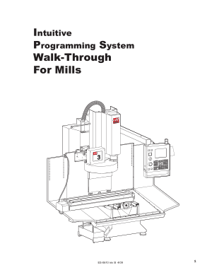 Haas Mill Intuitive Programming