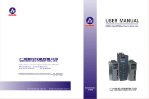GSK DAH01 DAH2075E AC Servo Drive Unit User Manual