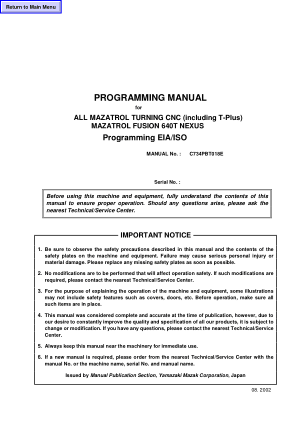mazatrol programming manual manuals user guides cnc manual rh cncmanual com mazatrol m32 programming manual mazatrol programming manual free download