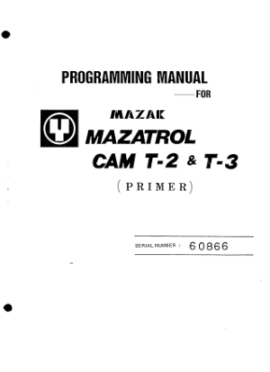 mazak mazatrol cam t 2 t 3 programming manual pdf cnc manual rh cncmanual com mazatrol programming manual free download mazatrol programming manual free download