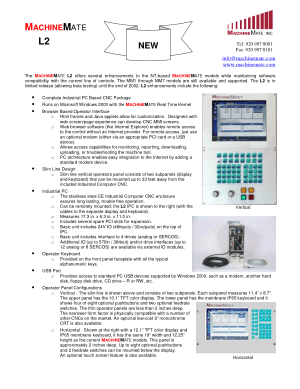 MachineMate L2 Flyer