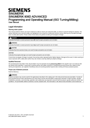Sinumerik 808D Advanced ISO Programming Manual