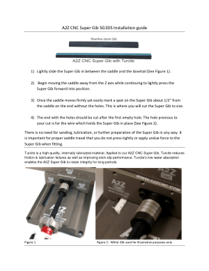 A2Z CNC Super Gib SG3DS Installation Guide