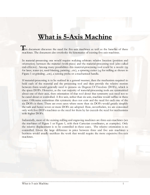 What is 5-Axis Machine