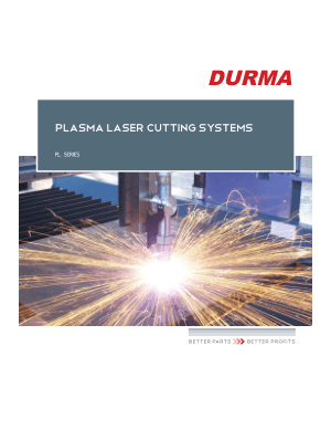 Durma PLASMA LASER CUTTING SYSTEMS
