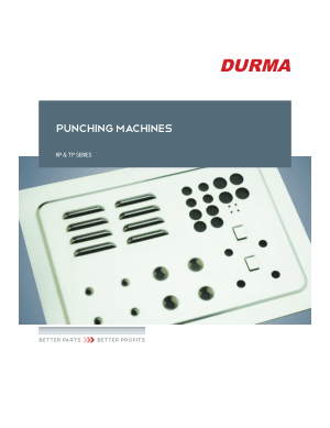 DURMA PUNCHING MACHINES