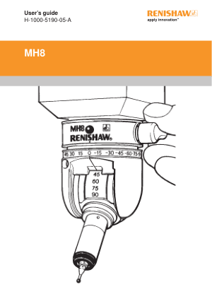 Renishaw MH8 User Guide
