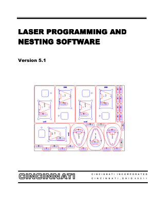 Cincinnati Laser Programming and Nesting Software