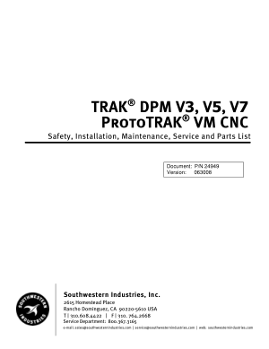 ProtoTRAK VM CNC Maintenance Manual
