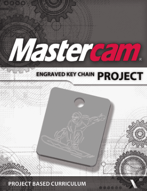 Mastercam ENGRAVED KEY CHAIN PROJECT