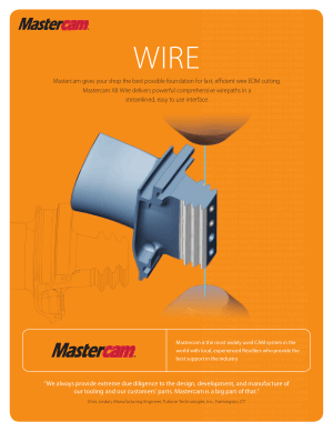 Mastercam WIRE Introduction