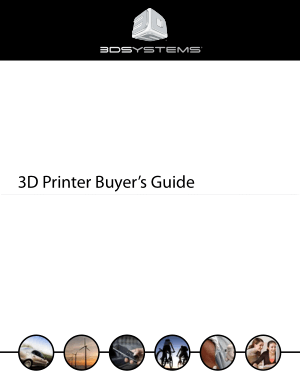 3D Printer Buyers Guide