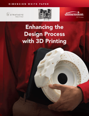 Enhancing the Design Process with 3D Printing