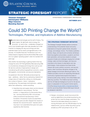 Could 3D Printing Change the World