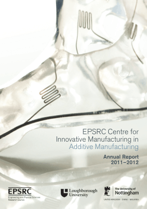 EPSRC Centre for Innovative Manufacturing