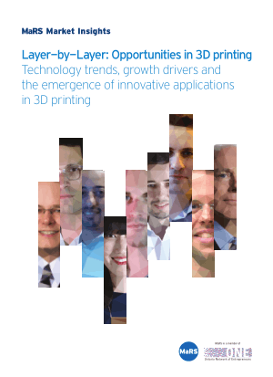 Opportunities in 3D printing Technology