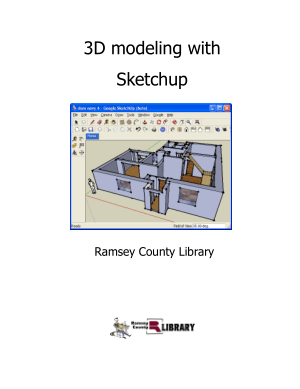 3D modeling with Sketchup