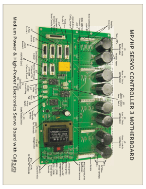 MP/HP Servo Controller 3 Motherboard