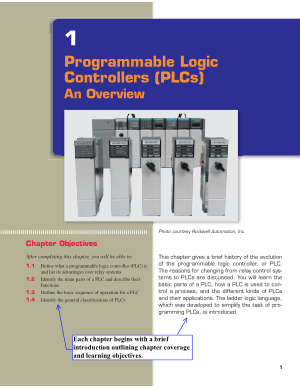 Programmable Logic Controllers PLCs An Overview