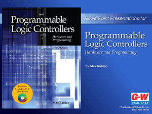 Programmable Logic Controllers Hardware & Programming