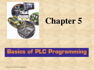 Basics of PLC Programming Chapter 5