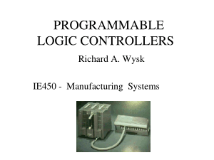 Programmable Logic Controllers Manufacturing Systems