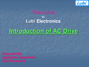Introduction of AC Drive