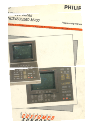 MAHO Philips 432 M700 Programming Manual