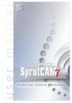 SprutCAM 7 User Manual