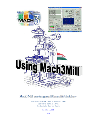 Mach3 Mill Hungarian Manual