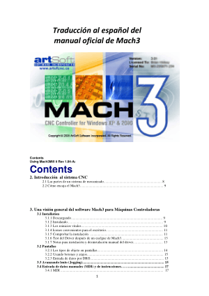 Mach3 Spanish Manual