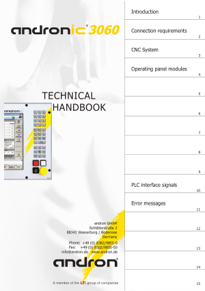 Andronic 3060 Technical Handbook