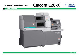 Cincom L20-X Cincom Innovation Line