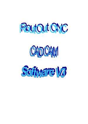 Routout CNC CAD CAM V3 Manual