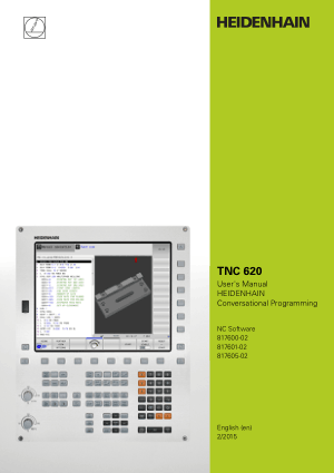 Heidenhain TNC 620 Conversational Programming Manual 2015