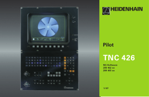 Heidenhain TNC 426 Pilot Manual