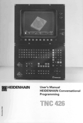 Heidenhain TNC 426 Conversational Programming Manual