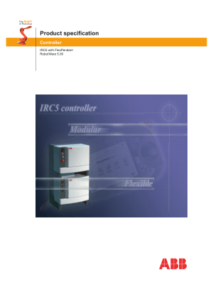ABB Controller IRC5 with FlexPendant 3HAC 021785-001