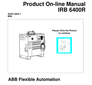 ABB IRB 6400R Product Manual