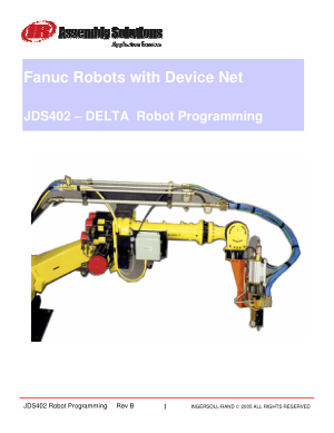 Fanuc Robots with Device Net JDS402 DELTA Robot Programming
