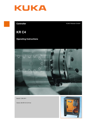 KUKA KR C4 Operating Instructions