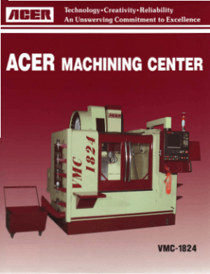 ACER Machining Centers VMC-1824