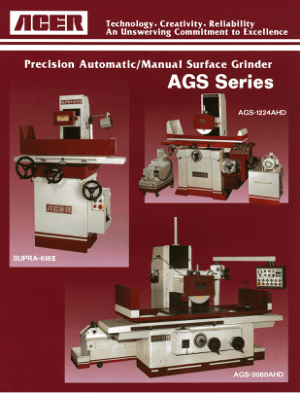 ACER Surface Grinders AGS Series