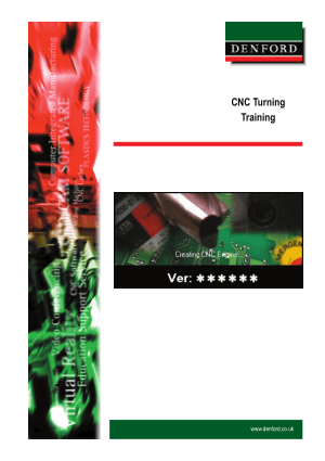 Denford VR CNC Turning Training Guide
