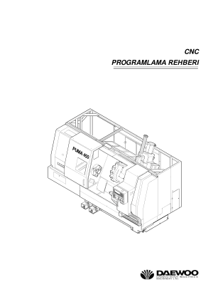 3618 daewoo puma 6hs cnc lathe instruction manual cnc manual  at eliteediting.co