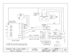 GN Classic 110 V Wire Diagram