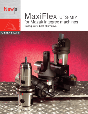 MaxiFlex UTS-MIY for Mazak integrex machines