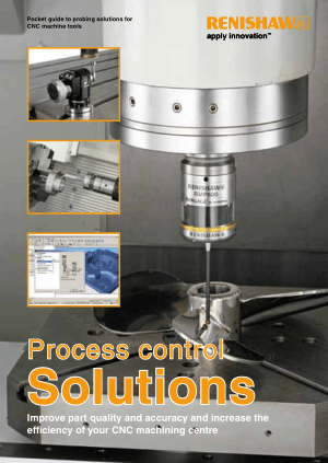 Renishaw Pocket Guide to Probing Solutions for CNC Machine Tools