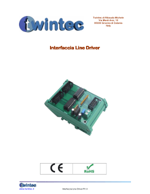 Twintec Interfaccia Line Driver