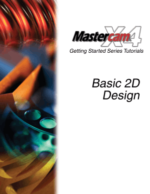 mastercam x6 training guide mill 2d 3d